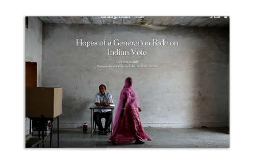 Hopes of a Generation Ride on Indian Vote