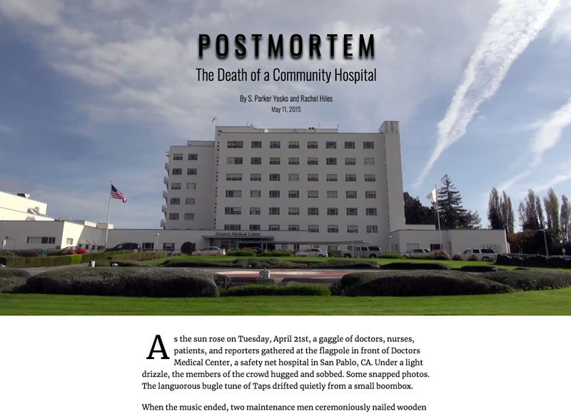 Death of Community Hospital