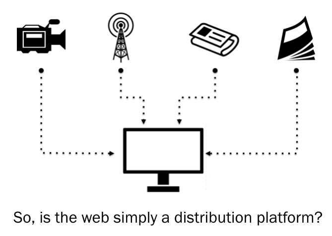 Is the web just a distribution platform?
