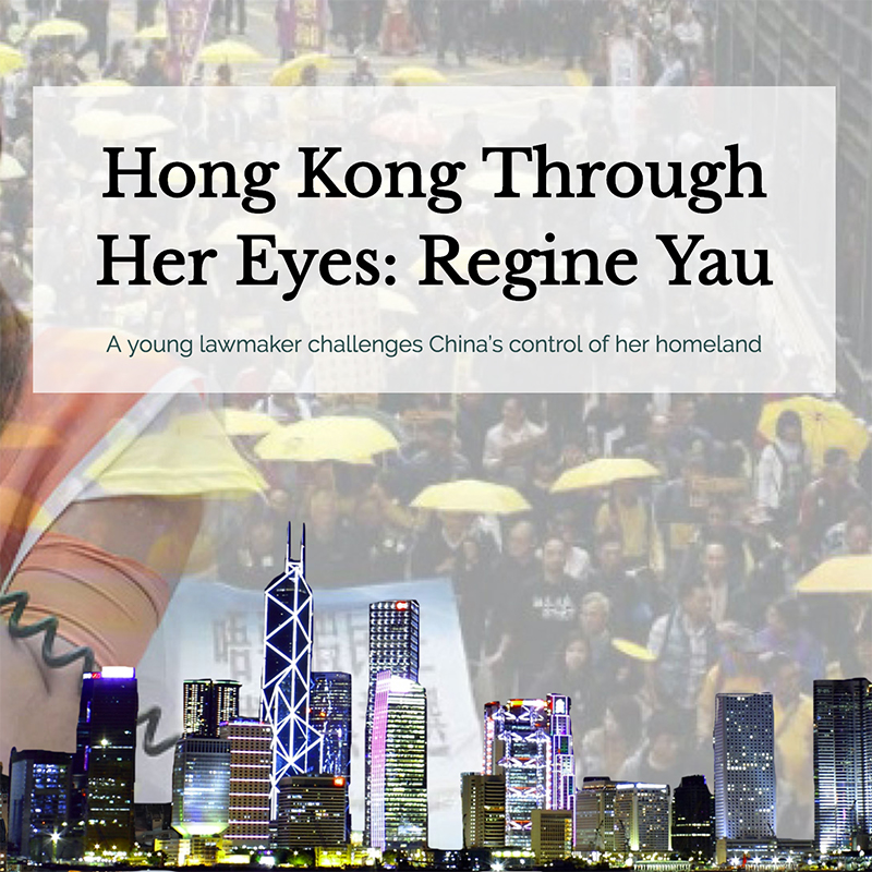 Hong Kong Through Her Eyes