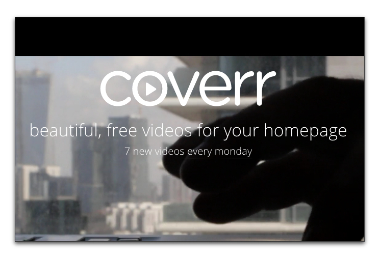 Coverr background videos