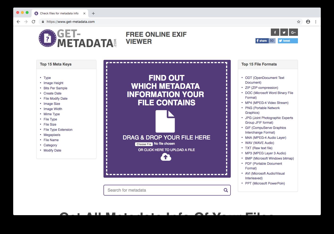 Get Metadata.com