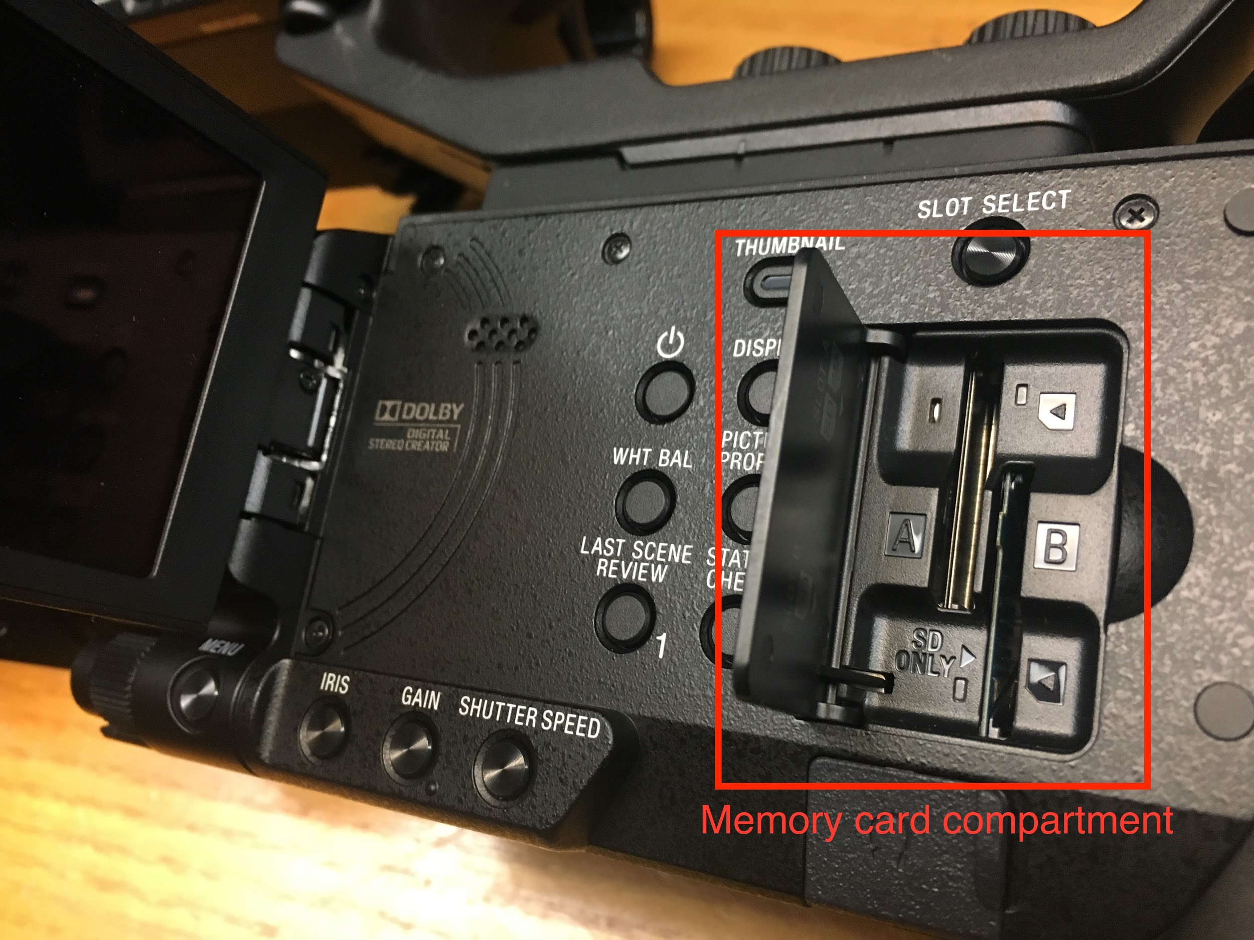 Image of camera component